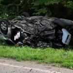 Nocą na drogach regionu doszło do kilku wypadków. Jedna osoba zginęła, dwie trafiły do szpitala