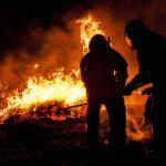 Pożar w Morlinach. Służby wyjaśniają przyczyny