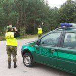 Funkcjonariusze Straży Granicznej zatrzymali rowerzystę jadącego zygzakiem