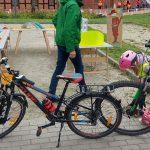 Rowerem po regionie. Rodzinny piknik w Olsztynie był zachętą do korzystania z dwóch kółek