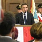 Grzymowicz zaprzysiężony na prezydenta Olsztyna