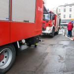 Pożar w bloku przy ulicy Gębika w Olsztynie