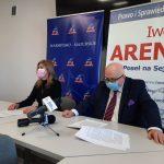 Konferencja prasowa Iwony Arent i Lecha Obary dotycząca rolników. O czym dokładnie mówili?