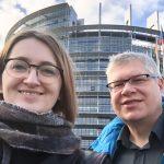Halo Strasburg! Małgorzata Sadowska i Krzysztof Kaszubski nadają z siedziby Parlamentu Europejskiego