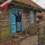 Coraz więcej osób korzysta z pomocy terytorialsów. Żołnierze docierają w najdalsze zakątki województwa warmińsko-mazurskiego