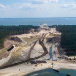 """Bursztyn na terenie przekopu Mierzei Wiślanej. Prawdopodobnie znajduje się tam 6,9 ton """"złota Bałtyku"""""""