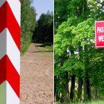 Kosztowne zdjęcie przy polsko-rosyjskich słupach granicznych. Kanadyjczyk i dwaj Amerykanie zlekceważyli przepisy i weszli na pas drogi granicznej