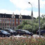 Zmiana organizacji ruchu w okolicach olsztyńskiego dworca mimo soboty – wywołała duże korki