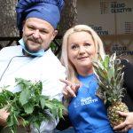 Gotowanie na żywo w Radiu Olsztyn. Radiowi koledzy rzucają wyzwanie kucharzowi Maciejowi