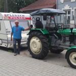 Pan Zygmunt podróżuje dookoła Polski…ciągnikiem!