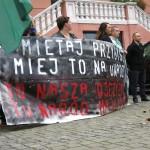Iława: protest przeciwko przyjmowaniu uchodźców