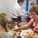Od dziś tętni życiem. Otwarcie Centrum Aktywności Społecznej w Lubajnach zainaugurował konkurs kulinarny