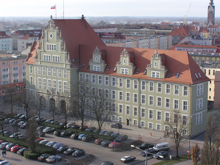Nowy gmach sądu w Elblągu